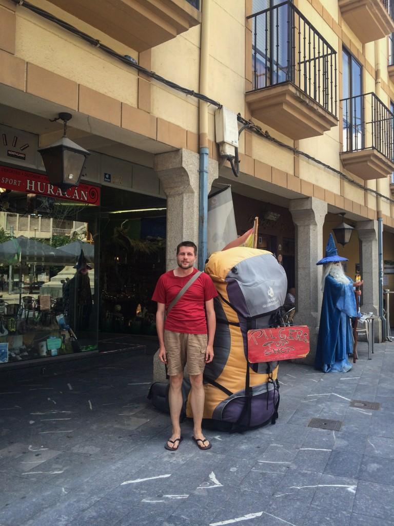 Ten plecak zdecydowanie był za duży :-) That backpack was definitely too big :-)